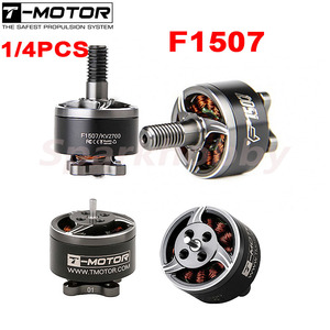 SALE t-motor 1507 F1507 3-6S 2700/3800KV 3-4S Brushless Motor with/without Shaft RC Cinewhoop 3inch Toothpick FPV Racing Drone(China)