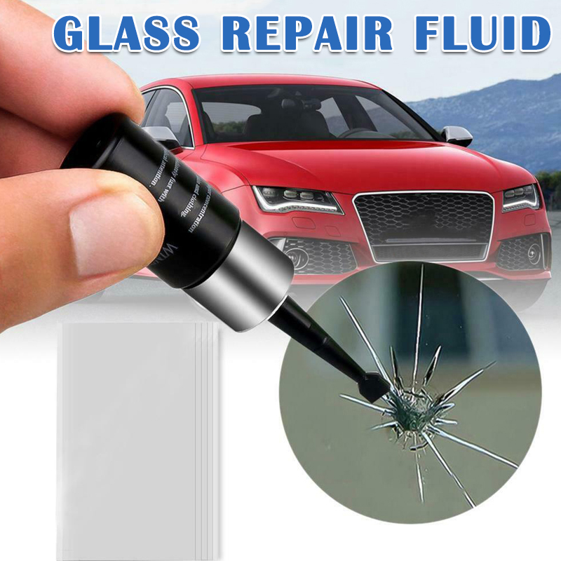 Car Windshield Windscreen Glass Repair Resin Kit Auto Vehicle Window Fix Tool Repairing S7 #5
