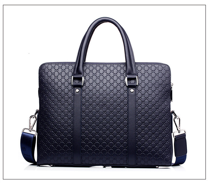 H9e6af2ad2e3f4110a0d1e0a4e1fba281T New Double Layers Men's Leather Business Briefcase Casual Man Shoulder Bag Messenger Bag Male Laptops Handbags Men Travel Bags