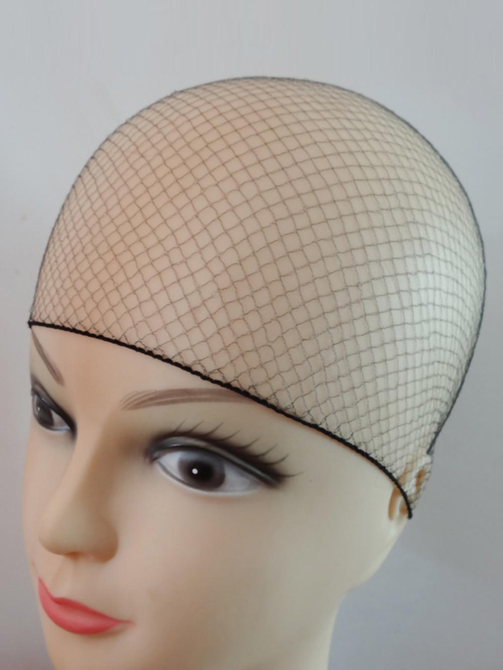 Elastic-Lines Hair-Net Coffee Sample Brown Soft Color Nylon Order Black Invisible 50pcs/20pcs