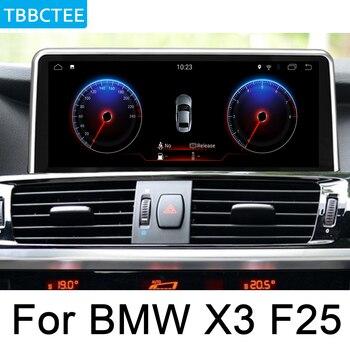 For BMW X3 F25 2014~2017 NBT Car Android Radio GPS Multimedia player stereo HD Screen Navigation Navi Map Media WIFI Head Unit