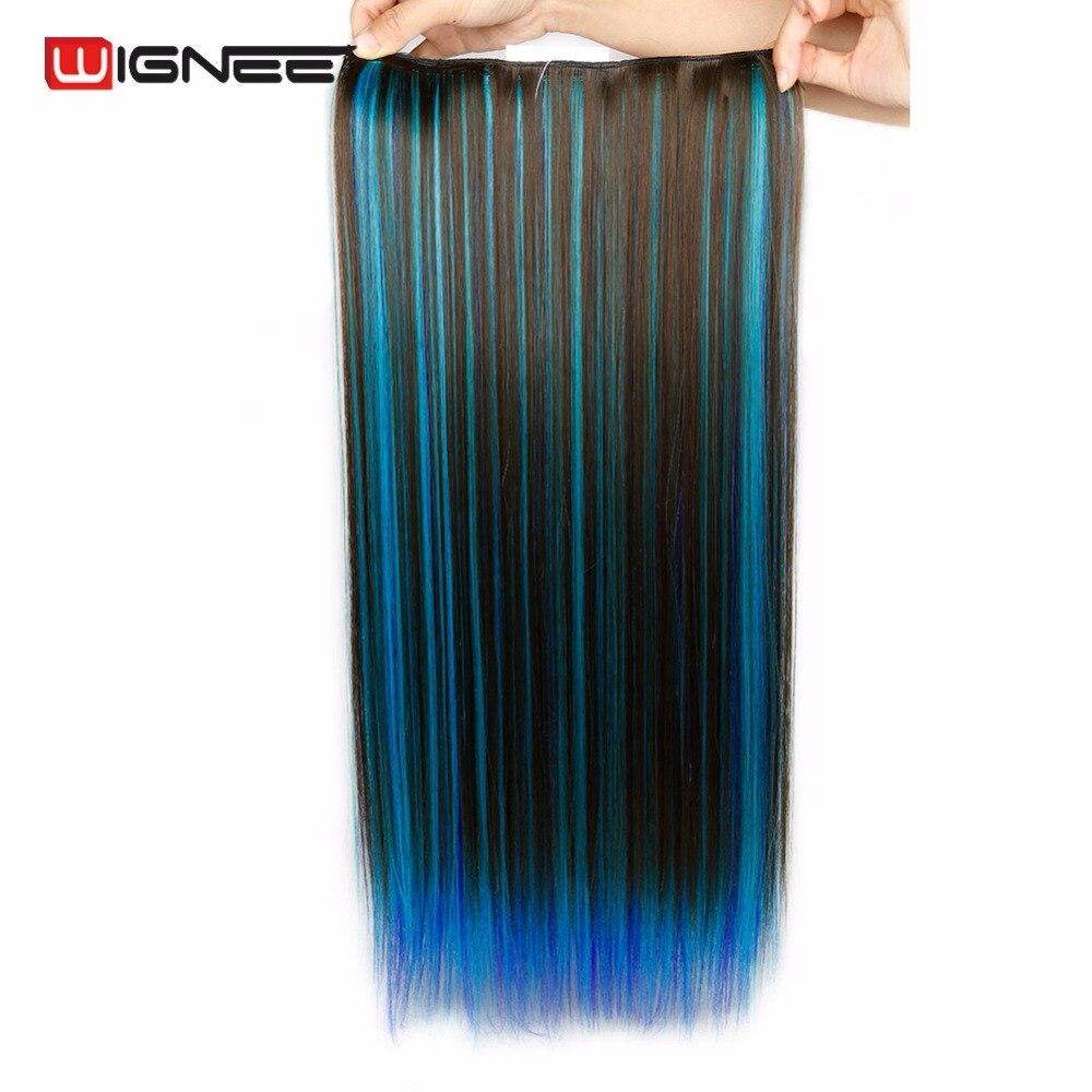 de extensão de cabelo sintético de alta