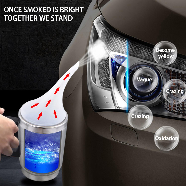 Automobile Headlight Restoration Kits Car Headlight Polish Repair Tool Glass Scratch Repair Headlight Renovation