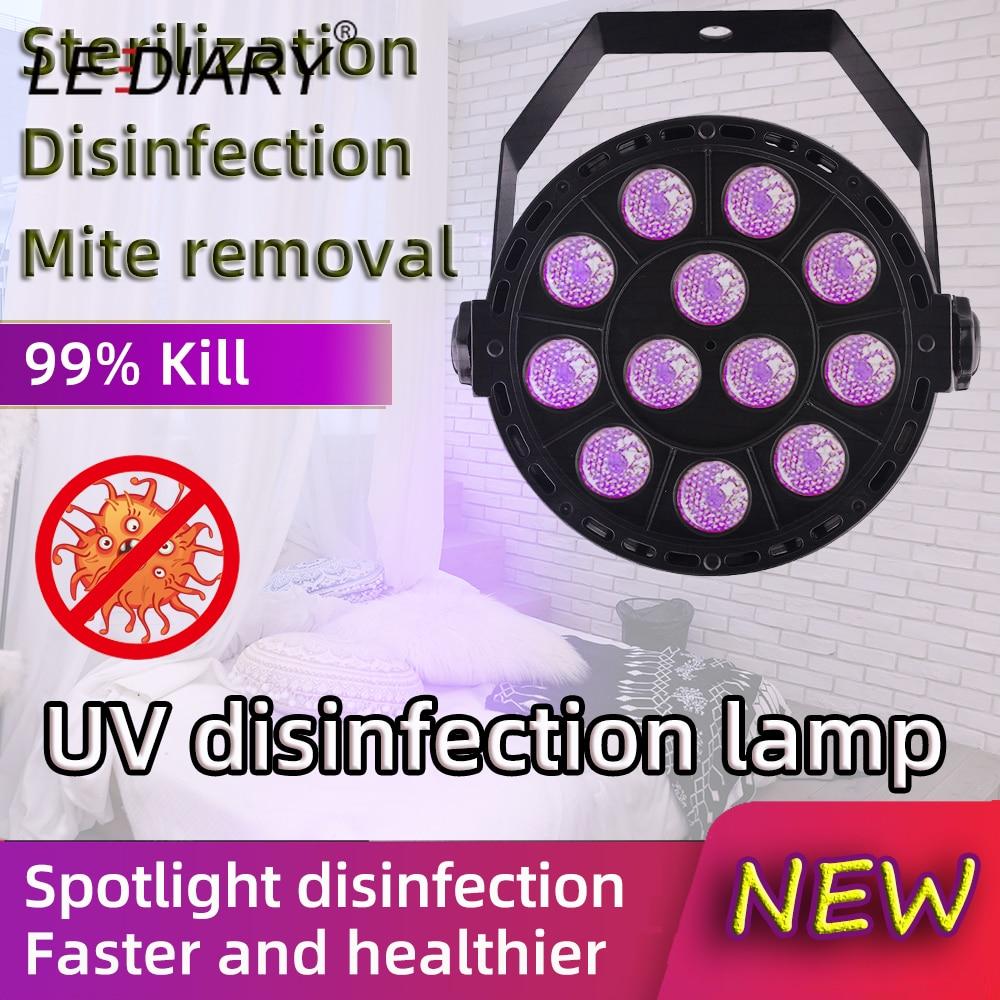 LEDIARY UV Germicidal Lamp Projection Lamp Spot Disinfection Portable Home Anti-virus Sterilization Mite Removal UV Sterilizer