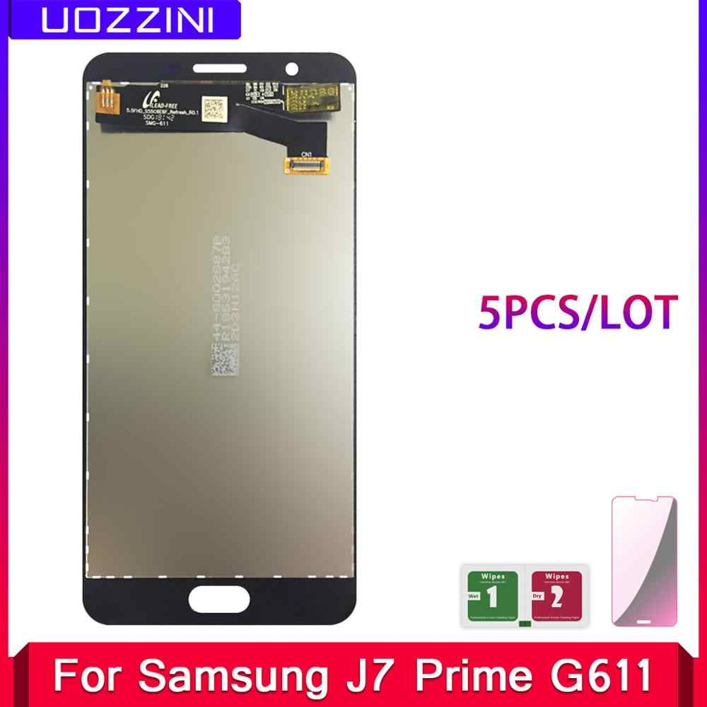 5 Pcs/Lot LCD Display For Samsung Galaxy J7 Prime 2 2018 G611 G611F Touch Screen Digitizer Assembly Replacement