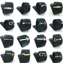Free Shipping Men's Tie Clips 29 Designs Option Novel Superheroes Style Anchor D