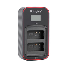 KingMa BLN 1 BLN1 tip c USB akıllı LCD çifte şarj makinesi için Olympus E M1 E M5 EP5 P EN F E M5 mark II kameralar BLN 1 şarj şarj