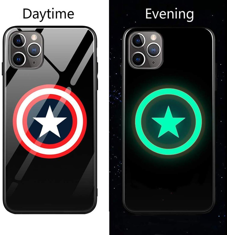 Чехол из закаленного стекла для iPhone X, XS, MAX, XR, 10, 6 S, 7, 8 Plus, 7 Plus, 8 Plus, 11 PRO, чехол для телефона с Бэтменом