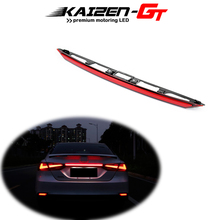 Replace Taillight-Bar W/sequential Toyota Camry Led Trunk Rear for Red Flash Lens Trim