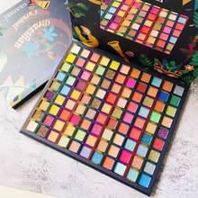 99 cores paleta de sombra brilho fosco sombra duradoura carnaval brasileiro maquiagem dos olhos pigmentos de néon cosméticos tslm2