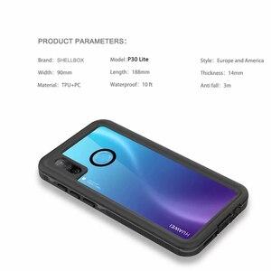 Image 5 - A Prova di acqua Per Il Caso di Huawei P30 Lite Nova 4e Custodia Impermeabile 360 di Protezione Completa Fundas Borsette Shock Proof Caso Della Copertura