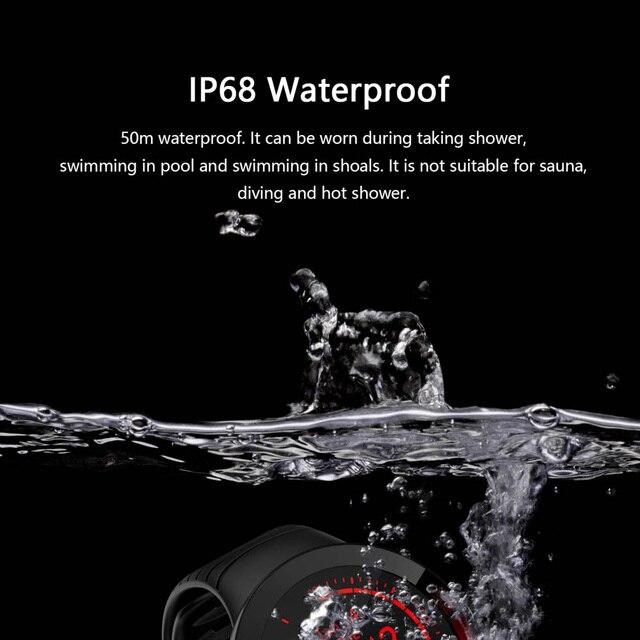 E3 relógio inteligente homem à prova dip68 água ip68 previsão do tempo smartwatch esportes relógio freqüência cardíaca pressão arterial de oxigênio no sangue saúde rastreador 5