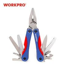 WORKPRO 15 in 1 Multi Tool Zangen/Messer Tasche Folding Werkzeuge Outdoor Camping Überleben Getriebe
