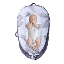 Newborn Baby Nest Bed Crib Portable Removable Washable Uterine Bionic Cotton Two Sides Use Crib Travel Bed For Children Infant B все цены