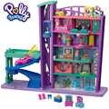 Polly poche enfant jouets Mini poupée méga centre commercial 6 étages belle maison de rêve bâtiment drôle semblant jouets différents accessoires GFP89