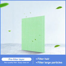 Air purifier cotton filter green filter suitable for AC4124 AC4002 AC4004 AC4012 315*287*5mm стоимость