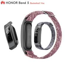 Original Huawei Honor Band 5 บาสเกตบอลVerสมาร์ทวิ่งท่าทาง 2 โหมดสวมใส่กันน้ำ 50 เมตร 5ATM