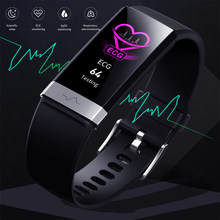 ECG PPG Smart Band Watch Women Reloj Hombre Heart Rate Blood Pressure Oxygen Smart Bracelet Waterproof Sport Fitness Band 2021