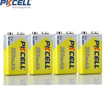 4Pcs*NI MH 250Mah 6F22 9V rechargeable Battery for Electronic thermometer