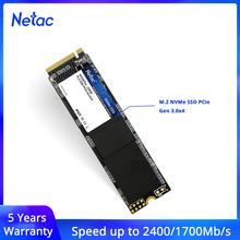 Netac SSD M2 1tb NVME 128GB 512GB M 2 2280 256GB dysk SSD wewnętrzny dysk twardy SSD M2 HDD PCIe NVMe 500GB na laptopa tanie tanio Pci express CN (pochodzenie) SMI2263XT Read Up to 2400MB s Write Up to Pci-e Pulpit Serwera N930E PRO Rohs 5 years PCle Gen3*4