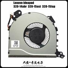 Ventilador novo da cpu de fcn fjd5 para lenovo ideapad 320-15isk 320-15ast 320-15iap 320-15ikb 320-15ast 320-14abr ventilador de refrigeração da cpu