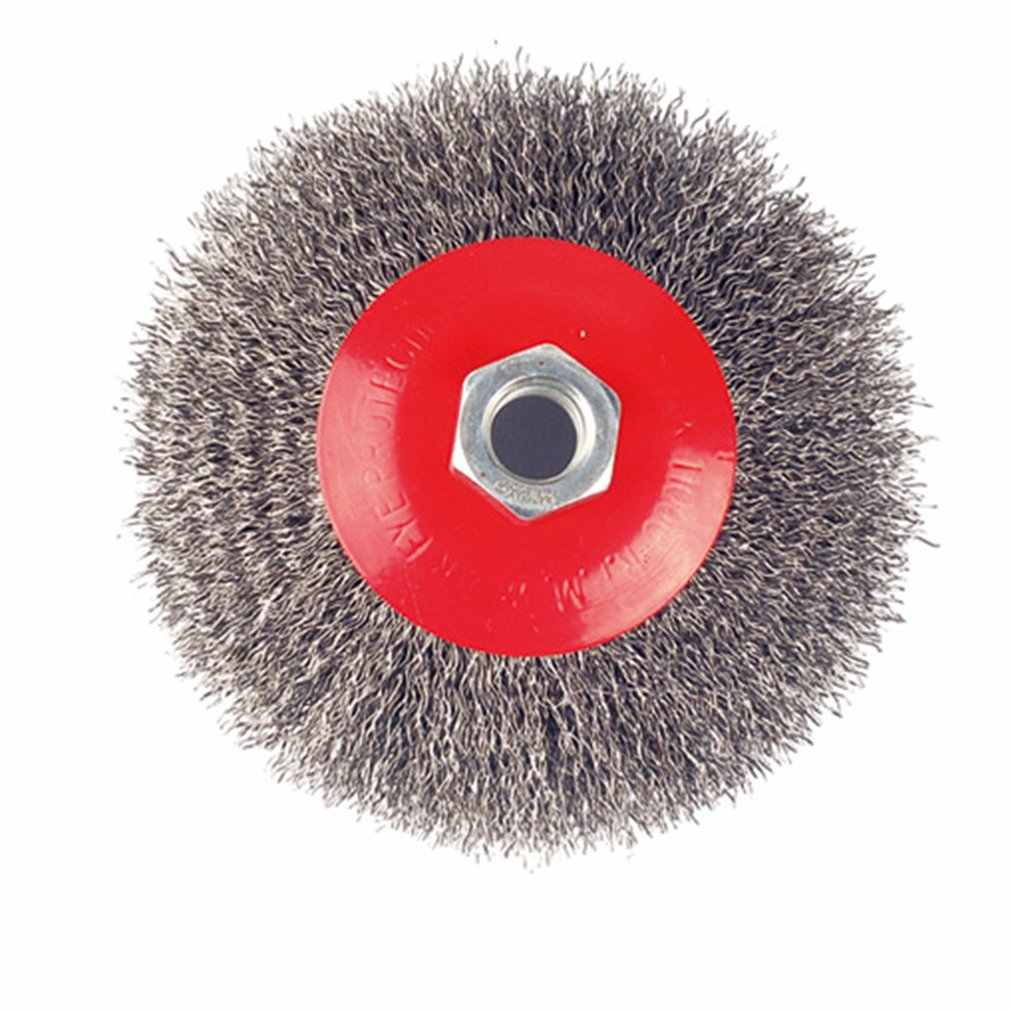 Solid Twisted Wire Brush Disc Type Wire Wheel Portable Wire Brush Twisted Wire Brush Derusting Brush