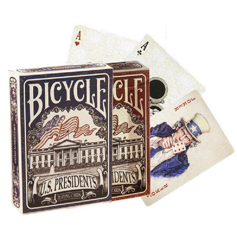bicycle-usa-presidents-playing-cards-red-blue-deck-font-b-poker-b-font-size-uspcc-magic-card-games-magic-tricks-props-for-magician