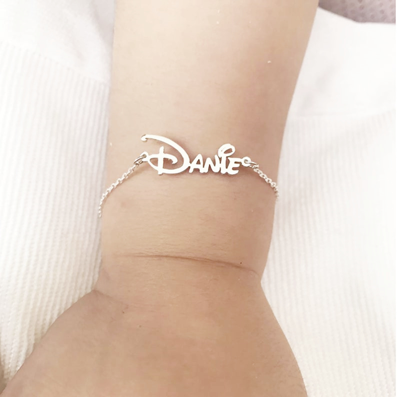 Custom Cute New Baby Name Bracelet Stainless Steel Not Allergic Personalized Jewelry Best Gifts For Babies Kids Children| |   - AliExpress