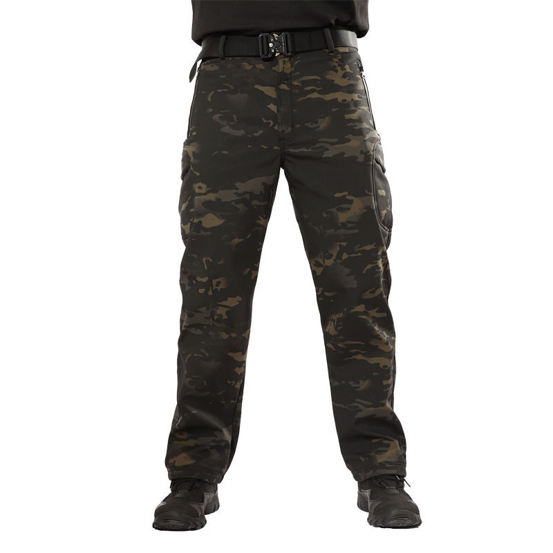 Lurker Shark Soft Shell Military Tactical Pants Waterproof Windproof Outdoor Sports Army Camouflage Warm Hunting Training Pants