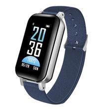2 In 1 T89 TWS Smart Binaural Bluetooth Earphone Fitness Bracelet Smart Wristband Headphone Heart Rate Sports Watch