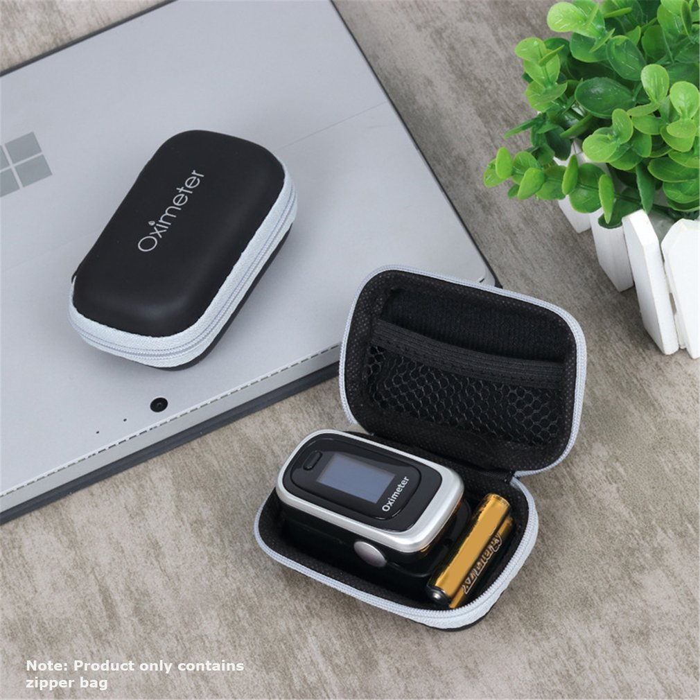 2020 Hot Sale New Finger Clip Pulse Oximeter Home Blood Oxygen Saturation Monitor Finger Pulse Heart Rate Meter Elderly Adults