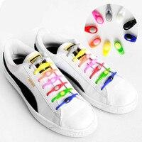 Cordones de silicona redondos para zapatos, cordones elásticos para zapatos, especiales, sin cordones, para hombre y mujer, 12 Uds., 2021