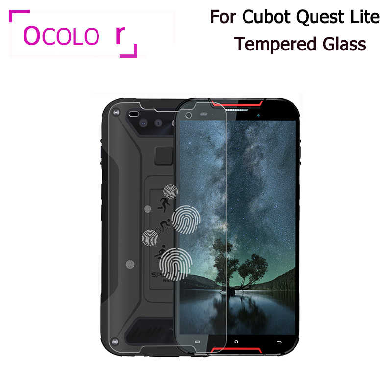 ocolor For Cubot Quest Lite Tempered Glass Replacement Screen Guard 5.0'' For Cubot Quest Lite Steel Film 9H Scratch Proof