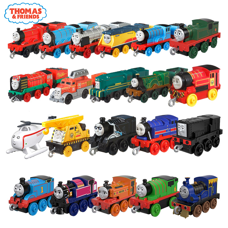 Original Thomas And Friends Trackmaster Alloy Trains Metal Engine Toy Suitable For Train Track 2019 New Car Toys For Boys Gifts