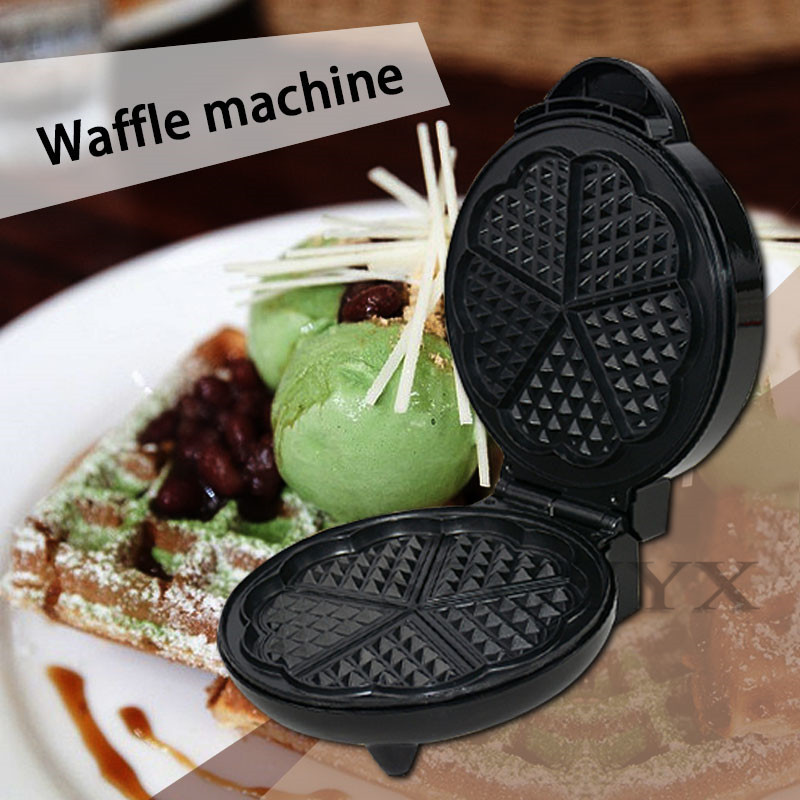 1200W Household Multifunction Waffle maker Cake machine Breakfast machine stainless steel Non stick pan Electric baking pan|Food Processors| |  - title=