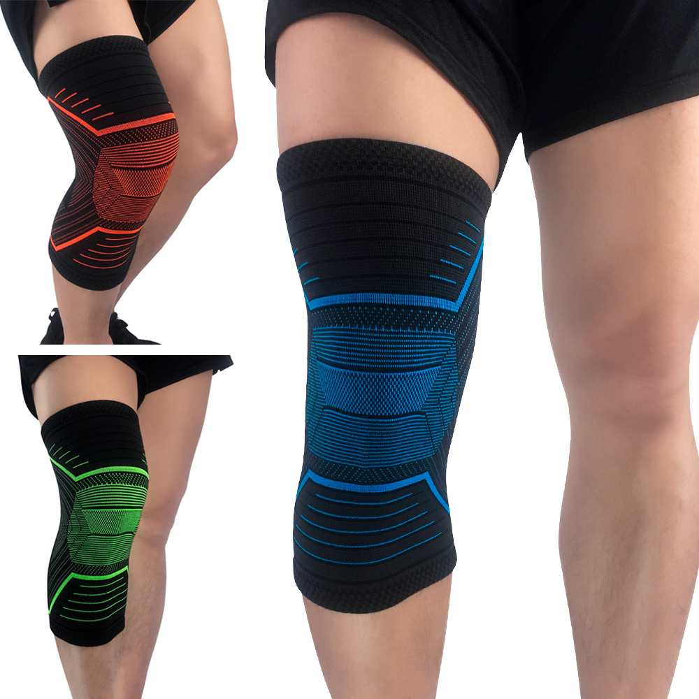 Sports Stretch Knee Protection Support Training Fitness Compression Sleeve 1 PC