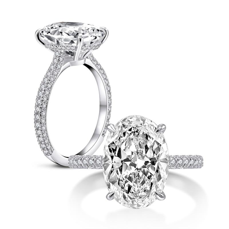 3ct Yellow Sapphire Luxury Emerald Cut Engagement Ring Wedding