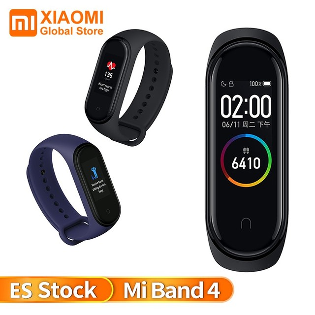 Xiaomi Mi Band 4 Touch Screen Smart Bracelet Bluetooth 5.0 Wristband Waterproof AI Color Screen Heart Rate Sports Bracelet