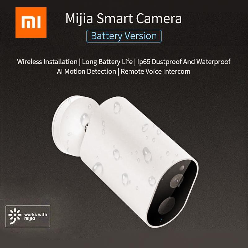Xiaomi Norma Mijia Smart Camera CMSXJ11A 1080P 120 Gradi F2.6 AI Umanoide di Rilevamento Telecamere IP Impermeabile Nighte Versione Baby Monitor