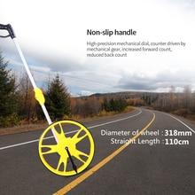 KKMOON Foldable Wheel Distance Measurer 0-9999M Long Extensible Measuring