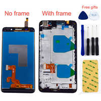 For Huawei Honor 4X Che2-L12 Che2-L23 Che2-L11 Che1-L04 LCD Display Monitor + Touch Screen Digitizer Sensor Panel Assembly Frame