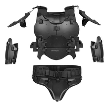 Tactical Armor Suit with Elbow Pads Detachable Military Airsoft Shooting Explosion-proof Vest Army Paintball Wargame Vest Set