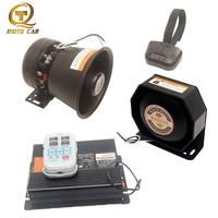 Car horn 12V loud Speaker Police siren Wireless Connect 200W PA MIC System Megaphone for train motor Alarm claxon tone Sound