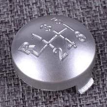 купить DWCX 6 Speed Plastic Gear Shift Knob Cover Cap 55344557 Fit for Alfa Romeo Brera Spider 159 2005 2006 2007 2008 2009 2010 2011 дешево