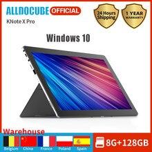 Alldocube note x pro windows 2 em 1, mesa 13.3 polegadas ips tela intel n4100 quad core 8gb ram 128gb ssd windows 10 wifi laptop