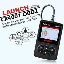 Launch CReader 4001 OBD2 сканер DIY Автомобильный считыватель кодов CR4001 OBDII диагностический инструмент Бесплатное обновление X431 CR419 такой же как autel AL319