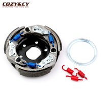 Scooter Clutch adjustable Evolution Racing 107mm for Honda Dio ZX Lead SH SFX SGX SKY SXR 50 Scoopy Shadow X8R S X Zoomer 50cc