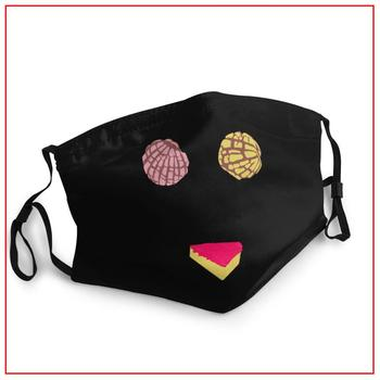 PAN DULCE BIKINI kids Men Women face mask adjustable facemasks breathing reusable washable filter cotton маска многоразовая マス image