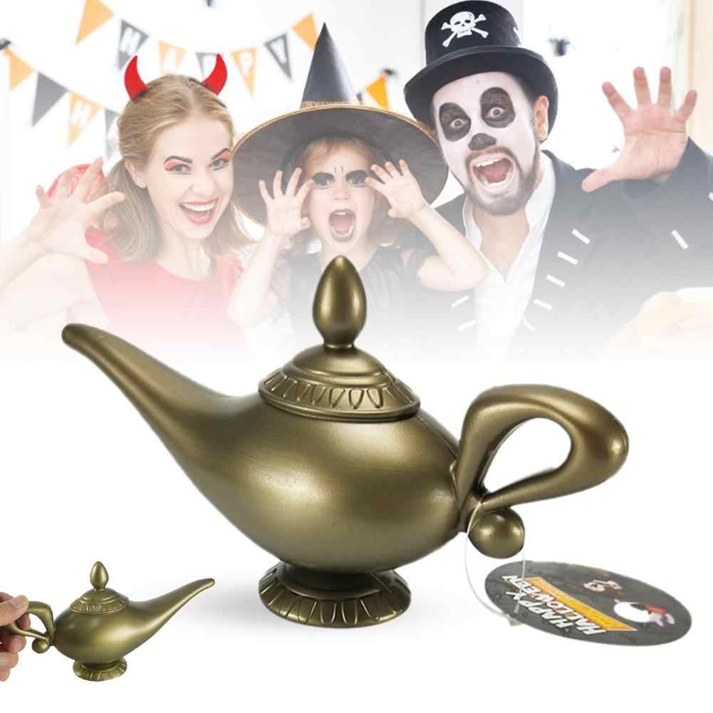 Plastic Cosplay Magic Halloween Christmas Panto Arabian For Genie Lamp Fancy Dress Prop For Children Home Decorations Party
