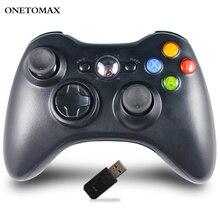 цена на 2.4G Wireless Controller For Xbox 360 Console Controller For Xbox 360 Game Joystick For PS3 PC Android Phone Gamepad Joystick